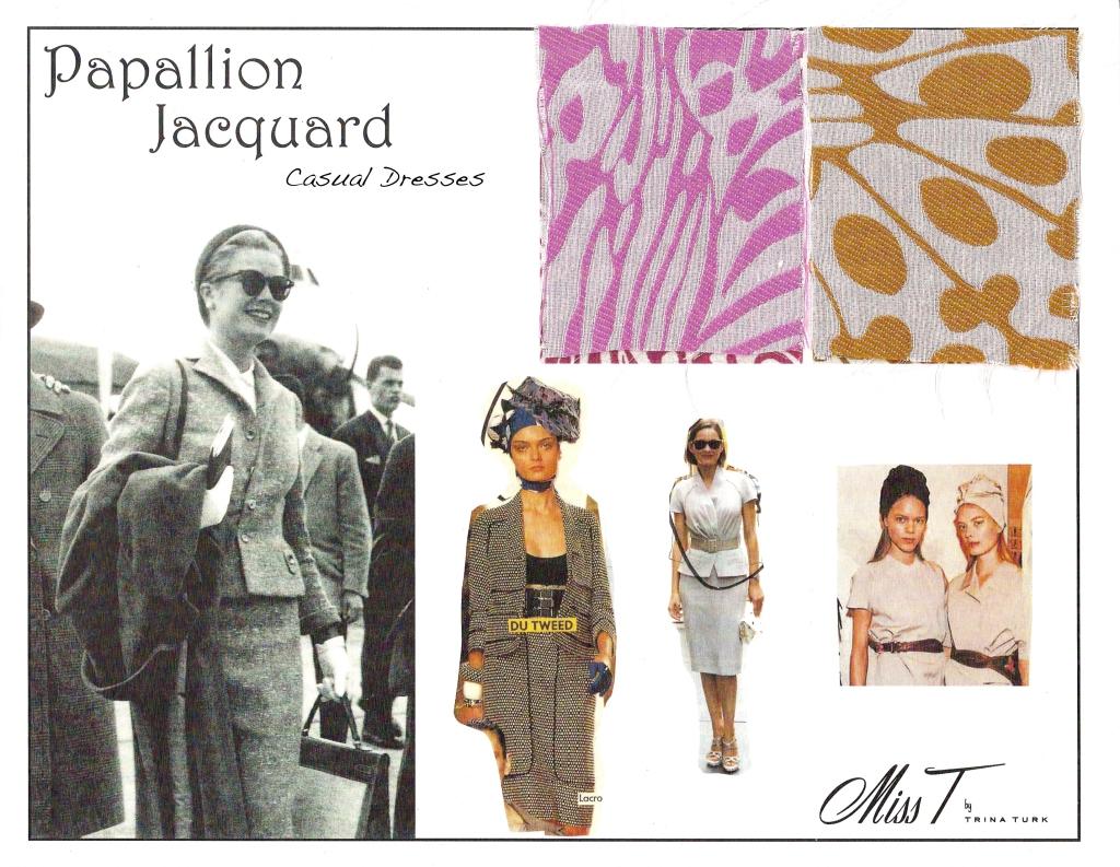 Papallion Jacquard - Theme