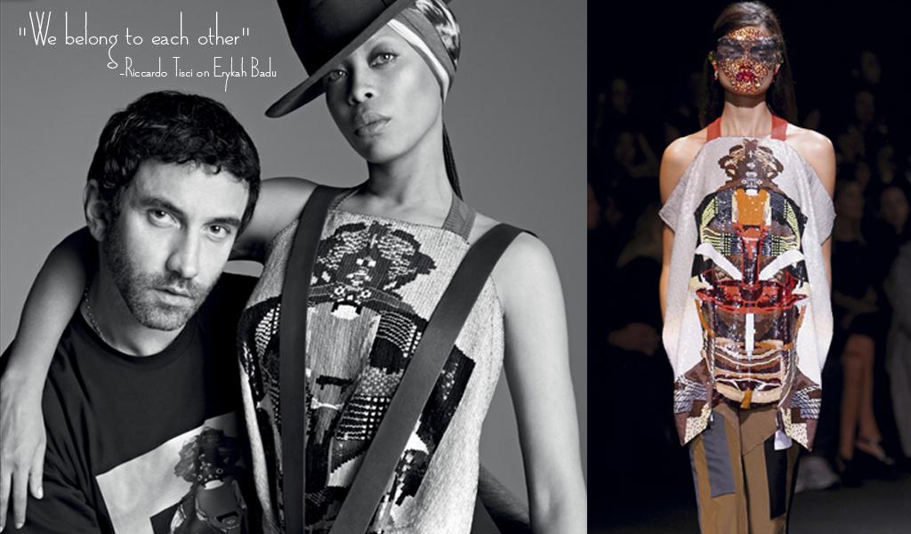 Erykah Badu Givenchy Spring 2014