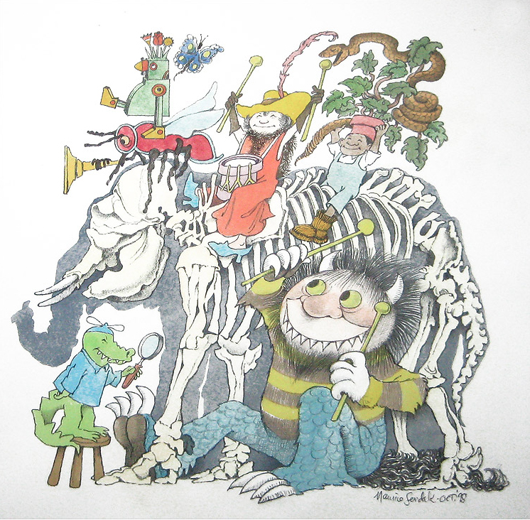 BrooklynChildrensMuseum_Maurice_Sendak